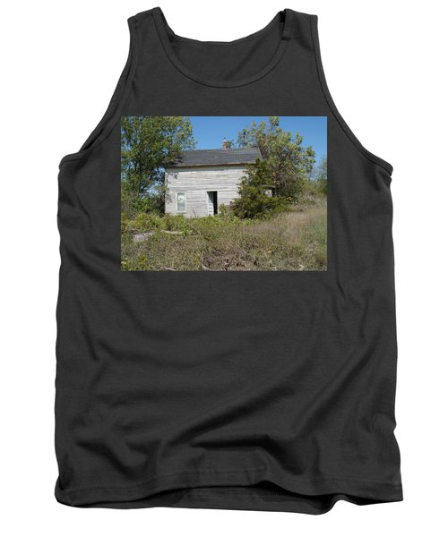 Tank Top featuring the photograph Abandoned by Bonfire Photography