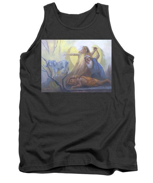 Abraham And Issac Test Of Abraham Tank Top