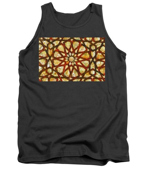 Abstract Art Tank Top