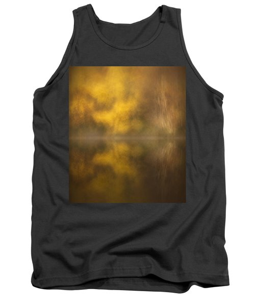 Abstract Birch Reflections Tank Top