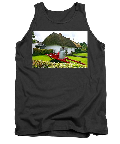 Tank Top featuring the photograph Adare Cottage by Charlie and Norma Brock