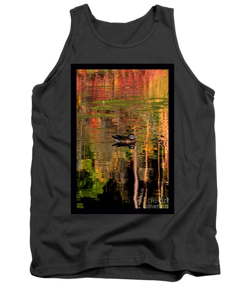 Tank Top featuring the photograph Adrift In Pastels by Susanne Still