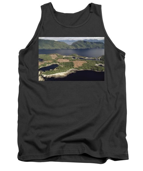 Aerial View Of Clearcut Temperate Tank Top