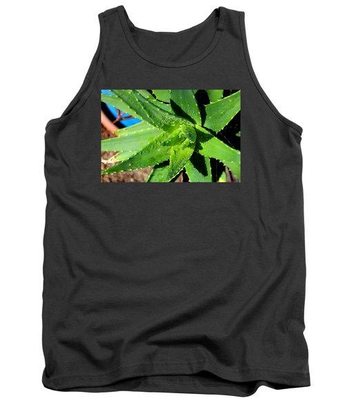Aloe Tank Top by M Diane Bonaparte