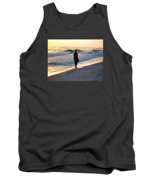 Alone At The Edge Tank Top