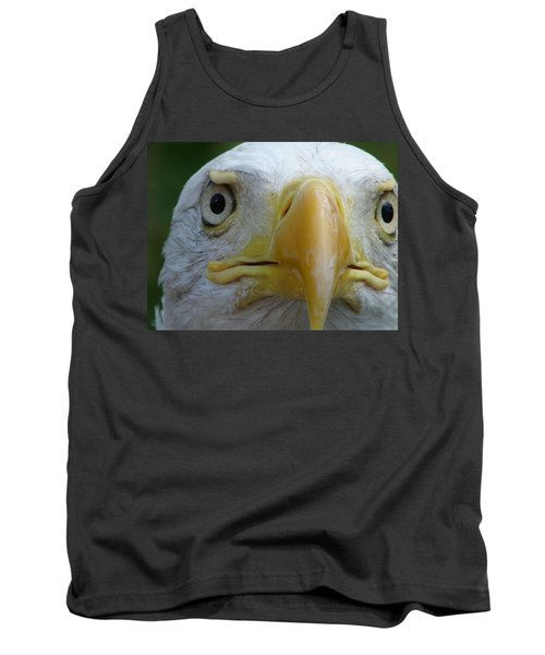American Bald Eagle Tank Top by Randy J Heath