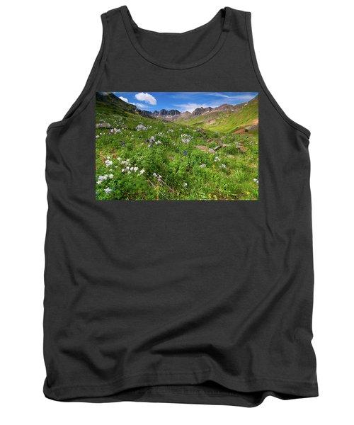 American Basin Wildflowers Tank Top