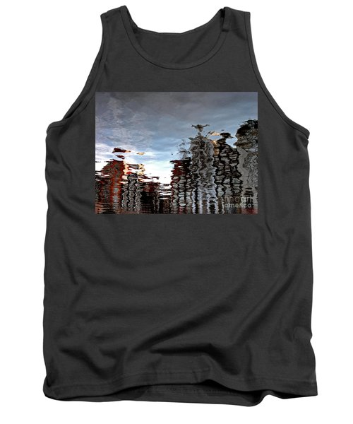 Tank Top featuring the photograph Amsterdam Reflections by Andy Prendy