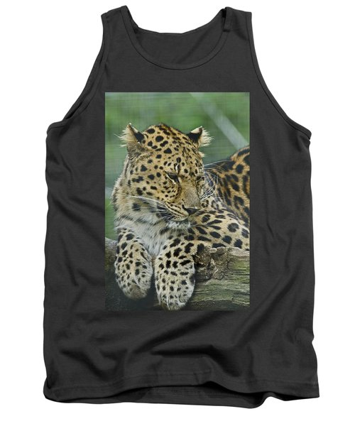 Tank Top featuring the photograph Amur Leopard by JT Lewis