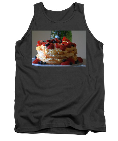 Tank Top featuring the photograph Angel Food by Kay Novy