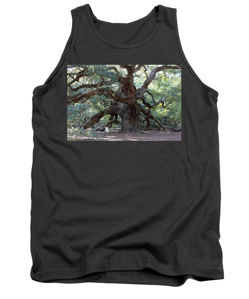 Angel Oak - Dont Climb Or Carve On The Tree Tank Top