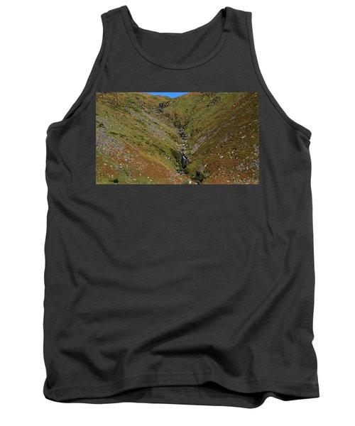 Tank Top featuring the photograph Annascaul Mountains by Barbara Walsh