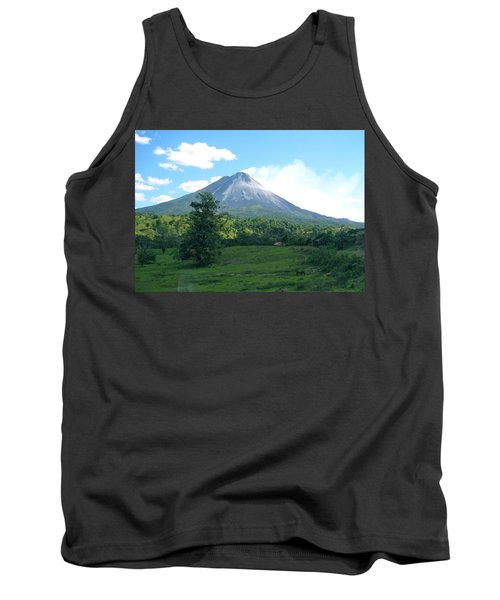 Tank Top featuring the photograph Arenal by Eric Tressler