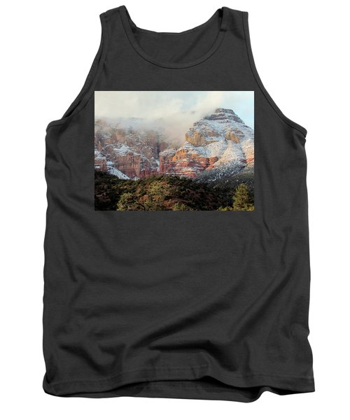 Arizona Snowstorm Tank Top by Judy Wanamaker