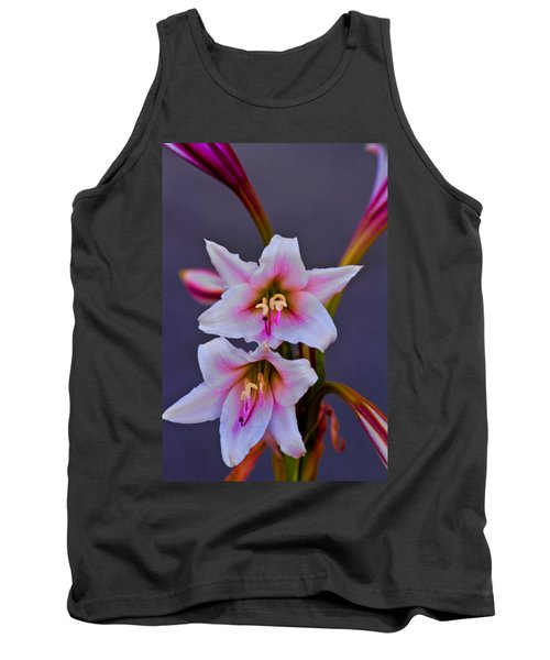 Asiatic Lily Tank Top by Bill Barber