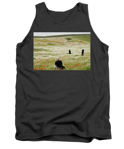 At Lachish's Magical Fields Tank Top