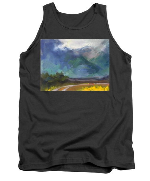 At The Feet Of Giants Tank Top