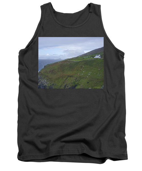 Tank Top featuring the photograph Atlantic Coast Ireland by Hugh Smith