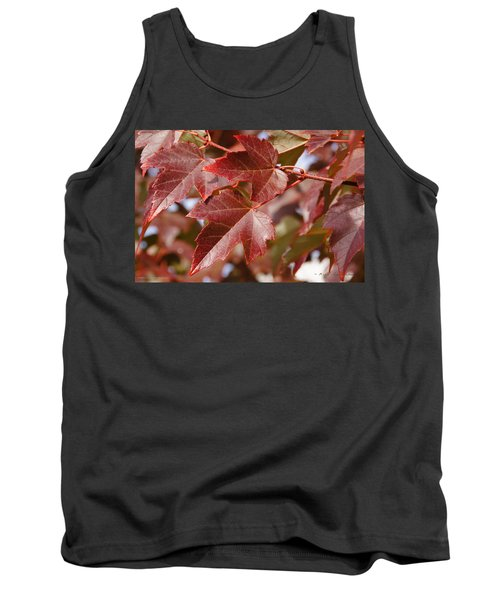 Tank Top featuring the photograph Autumn In My Back Yard by Mick Anderson