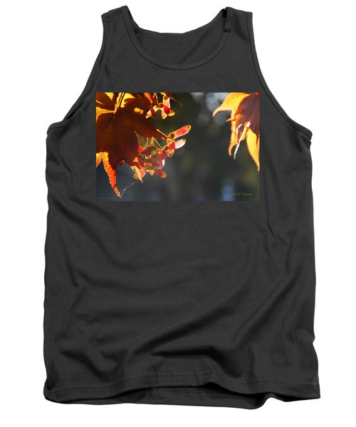 Tank Top featuring the photograph Autumn Maple by Mick Anderson
