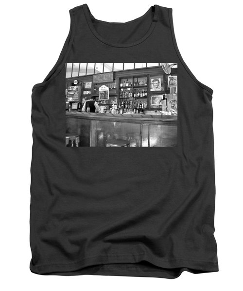 Tank Top featuring the photograph Bar In Old Havana by Lynn Bolt