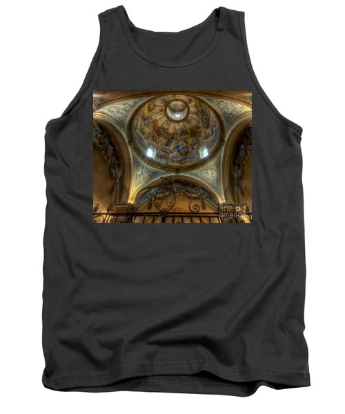 Baroque Church In Savoire France 5 Tank Top by Clare Bambers
