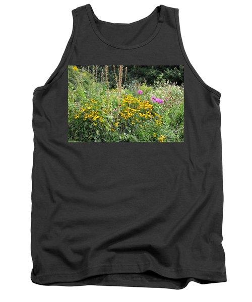 Tank Top featuring the photograph Beautiful Flower Garden by John Black