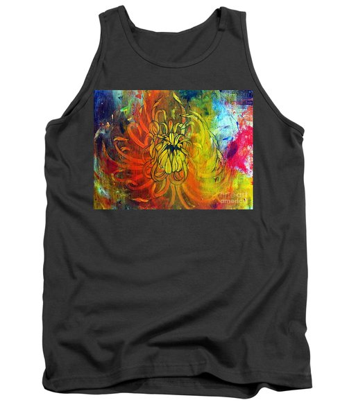 Tank Top featuring the painting Beautiful Mistake by Sandro Ramani