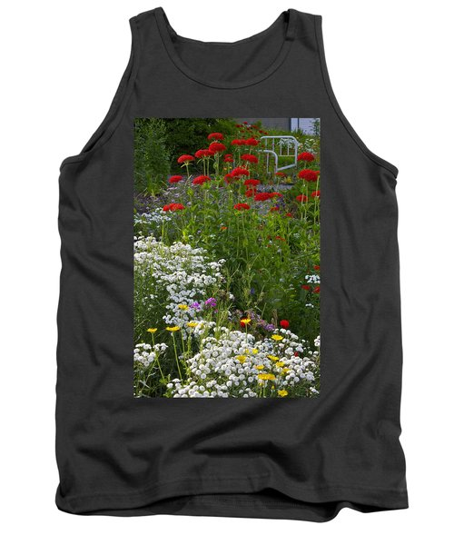 Bed Of Flowers Tank Top by Johanna Bruwer