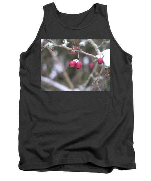 Berries In Winter Tank Top