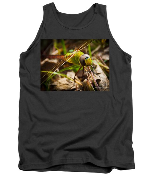 Tank Top featuring the photograph Big Brown Eyes by Cheryl Baxter
