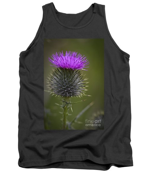 Blooming Thistle Tank Top