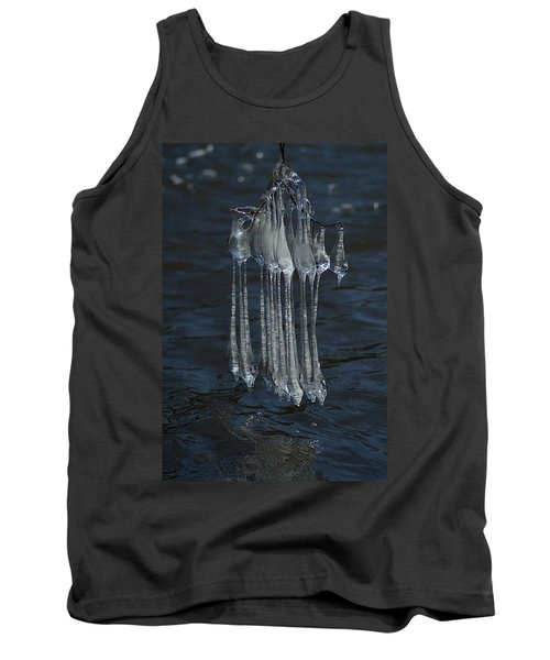 Blue Return Tank Top
