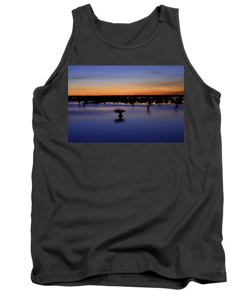 Blue Sunset Mangroves Tank Top