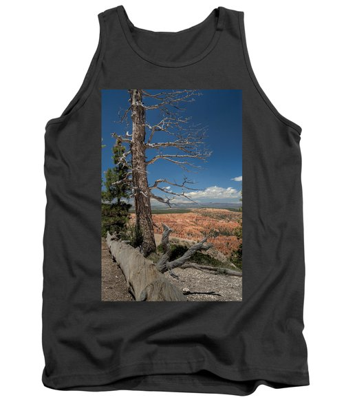 Bryce Canyon - Dead Tree Tank Top by Larry Carr