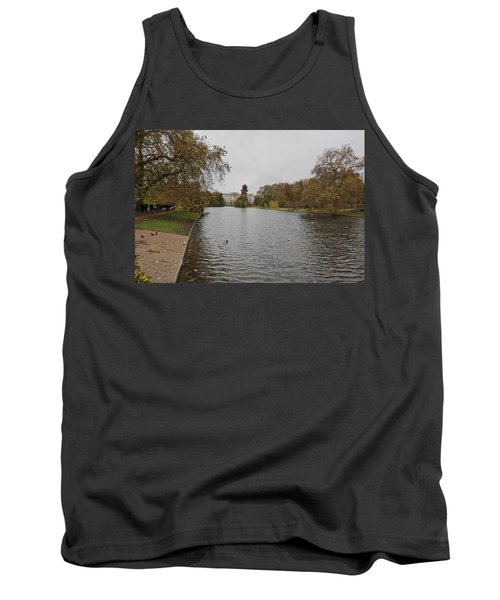 Tank Top featuring the photograph Buckingham Palace View by Maj Seda