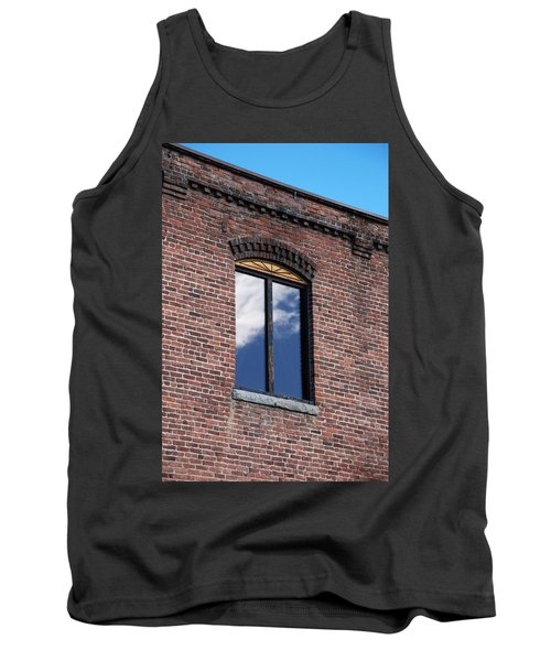 Tank Top featuring the photograph Building Series - Sky Views by Kathleen Grace