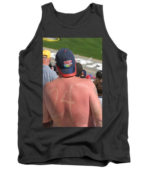 Burned Into His Back 24 Tank Top by Kym Backland