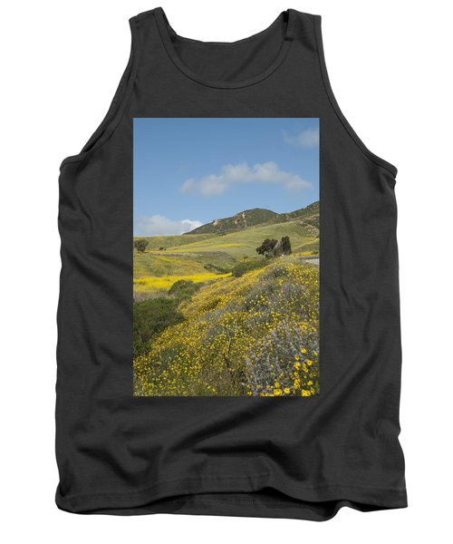 California Hillside View I Tank Top