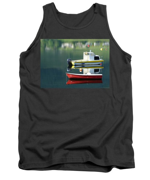 Tank Top featuring the photograph Calm Waters by Lynn Bolt