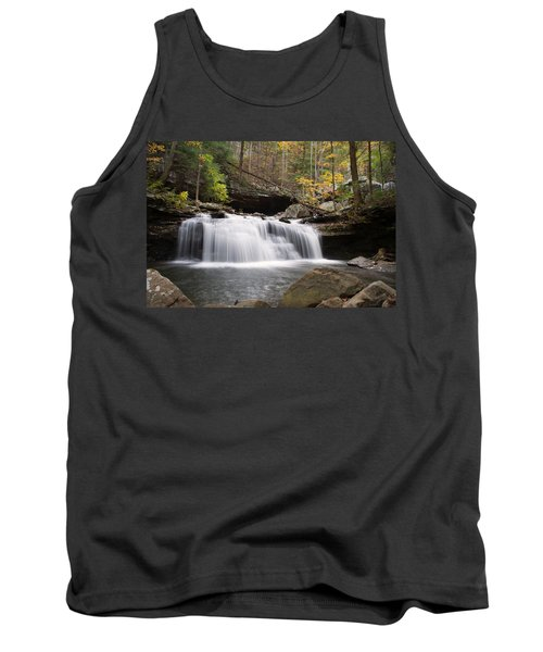 Canyon Waterfall Tank Top by David Troxel