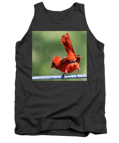 Cardinal-a Picture Is Worth A Thousand Words Tank Top