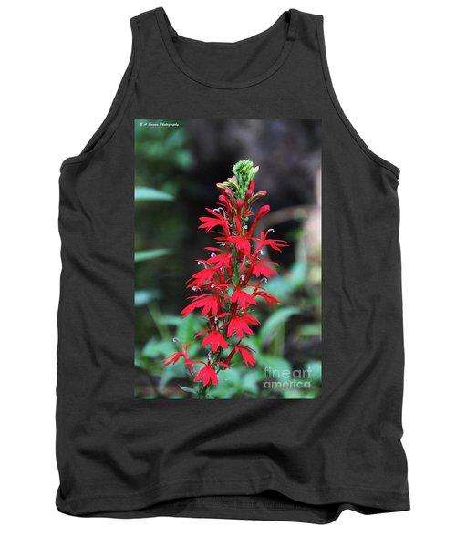 Cardinal Flower Tank Top