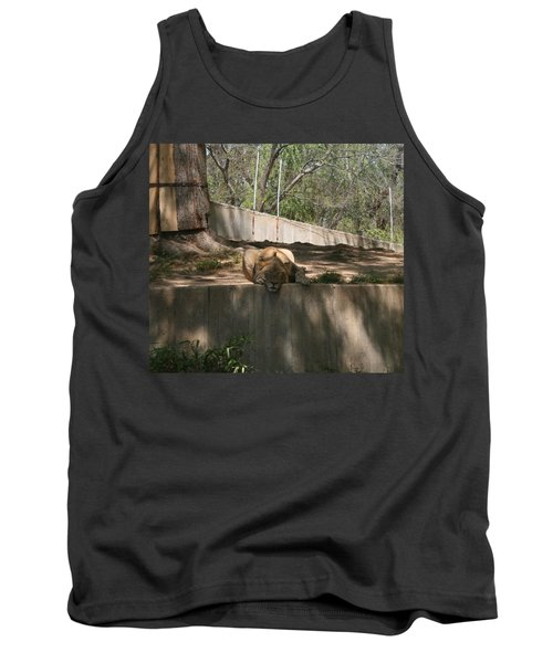 Tank Top featuring the photograph Cat Nap by Stacy C Bottoms