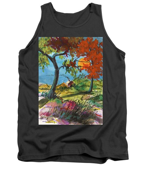 Catching Sundown Tank Top by John Williams