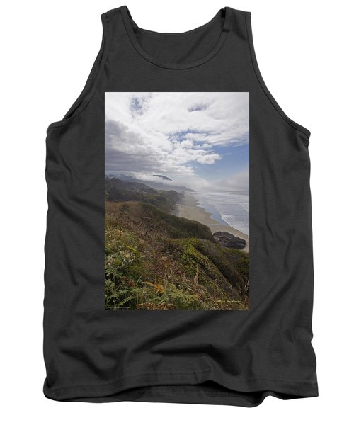 Tank Top featuring the photograph Central Oregon Coast Vista by Mick Anderson