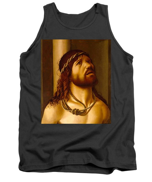 Christ At The Column Tank Top