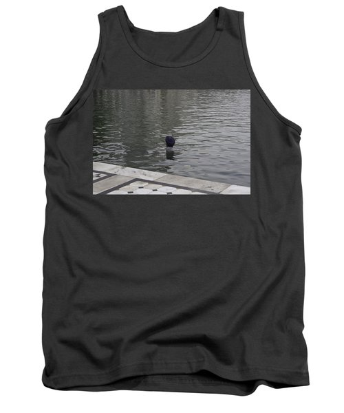 Tank Top featuring the photograph Cleaning The Sarovar In The Golden Temple by Ashish Agarwal