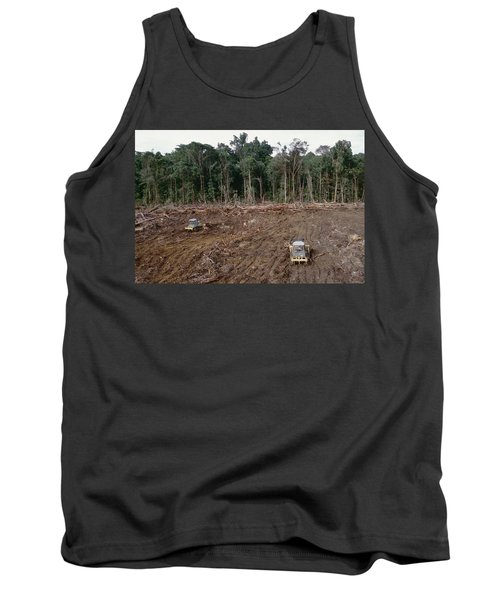 Clearing Of Tropical Rainforest South Tank Top