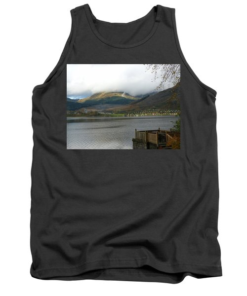 Tank Top featuring the photograph Cloud Over Beinn An Lochain by Lynn Bolt